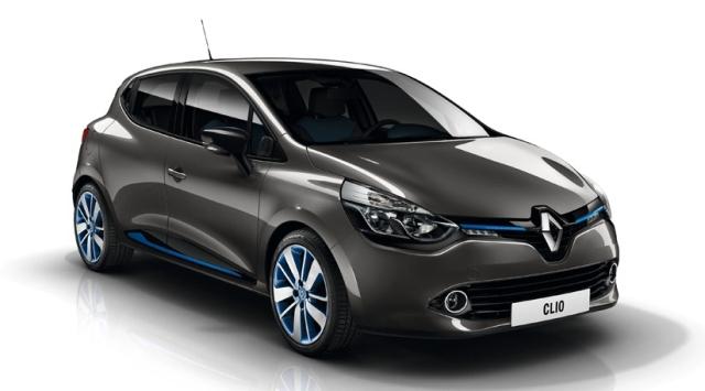 Clio 4 Renault gris Cassiopée