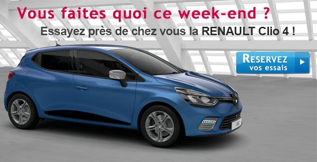 Essayer Renault Clio 4